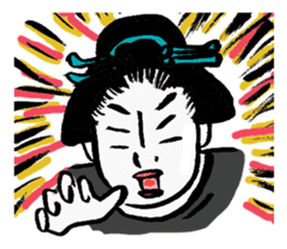 Oedo Girls sticker #2278959