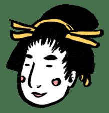Oedo Girls sticker #2278960