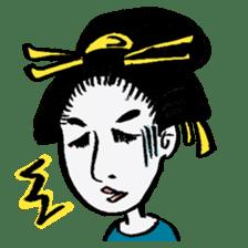 Oedo Girls sticker #2278961