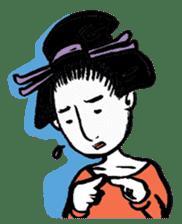 Oedo Girls sticker #2278962