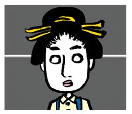 Oedo Girls sticker #2278963
