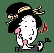 Oedo Girls sticker #2278964