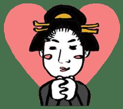 Oedo Girls sticker #2278970