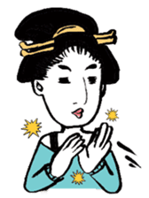 Oedo Girls sticker #2278972