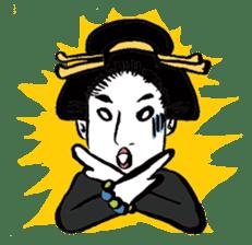 Oedo Girls sticker #2278973