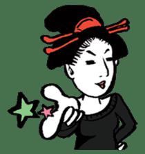 Oedo Girls sticker #2278979