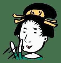Oedo Girls sticker #2278988