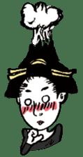 Oedo Girls sticker #2278989