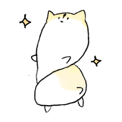 Hamster stickers not to be able to hate
