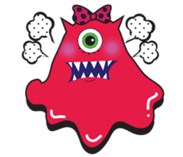 PINK MONSTER and GREEN MONSTER sticker #2289763
