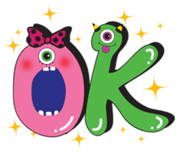 PINK MONSTER and GREEN MONSTER sticker #2289765