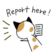 The Working Cat [ENG] sticker #2290840