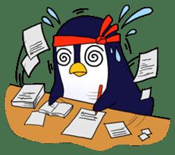 Ricco the Penguin Loverboy sticker #2290998