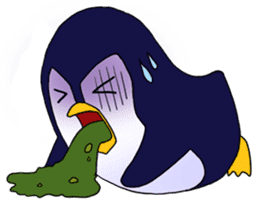 Ricco the Penguin Loverboy sticker #2291010