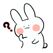 Usako of white rabbit sticker #2293745