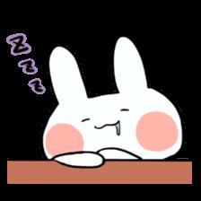 Usako of white rabbit sticker #2293746