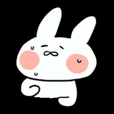 Usako of white rabbit sticker #2293747