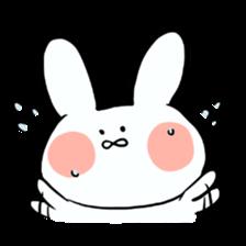 Usako of white rabbit sticker #2293749