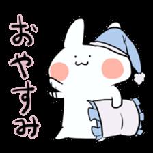 Usako of white rabbit sticker #2293757