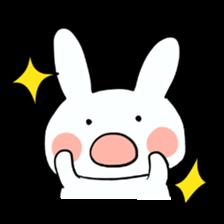 Usako of white rabbit sticker #2293759