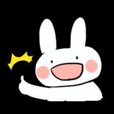 Usako of white rabbit sticker #2293760