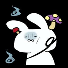 Usako of white rabbit sticker #2293766