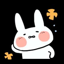 Usako of white rabbit sticker #2293767