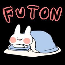 Usako of white rabbit sticker #2293773