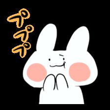 Usako of white rabbit sticker #2293774