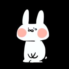 Usako of white rabbit sticker #2293775