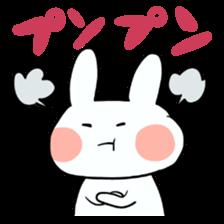Usako of white rabbit sticker #2293776