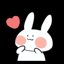 Usako of white rabbit sticker #2293778