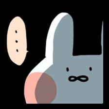 Usako of white rabbit sticker #2293781