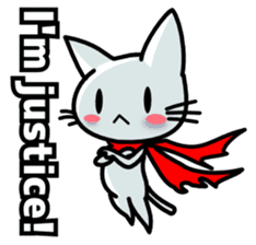 heroic cat (English ver.) sticker #2302064