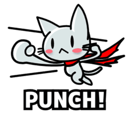 heroic cat (English ver.) sticker #2302076
