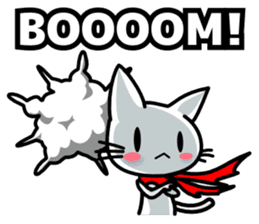 heroic cat (English ver.) sticker #2302079
