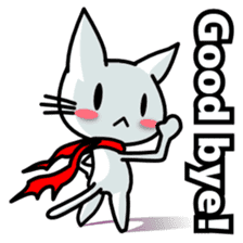heroic cat (English ver.) sticker #2302083