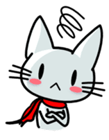 heroic cat (English ver.) sticker #2302097