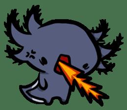 Axolotl~Upa~ sticker #2302465