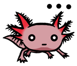 Axolotl~Upa~ sticker #2302468