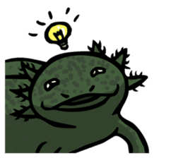 Axolotl~Upa~ sticker #2302474