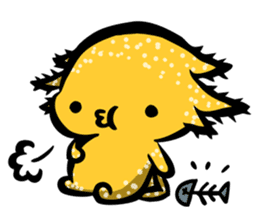 Axolotl~Upa~ sticker #2302475