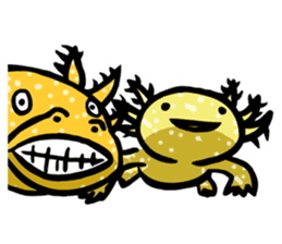 Axolotl~Upa~ sticker #2302479