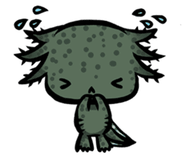 Axolotl~Upa~ sticker #2302486