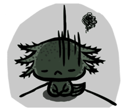 Axolotl~Upa~ sticker #2302490