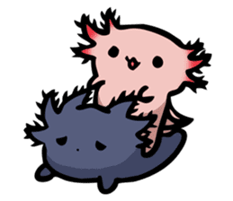Axolotl~Upa~ sticker #2302493