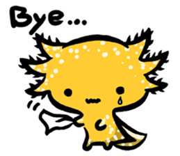 Axolotl~Upa~ sticker #2302499