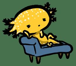 Axolotl~Upa~ sticker #2302503