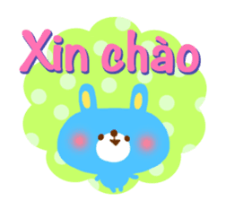 Message to children (Vietnamese) sticker #2307904