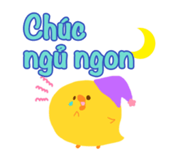 Message to children (Vietnamese) sticker #2307916